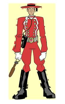 Aether Marine in Duty Dress